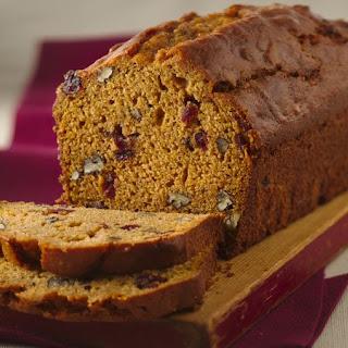 Cranberry-Sweet Potato Bread.