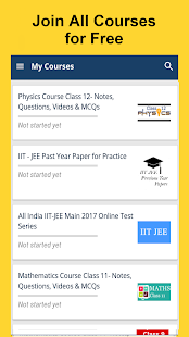 JEE MAINS Tests/Notes/Videos- screenshot thumbnail