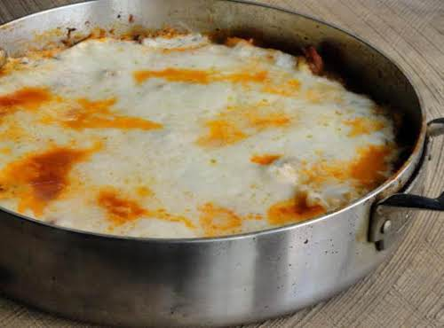 """Skillet Lasagna""""I love this!!! It is delicious! I don't often make a..."""