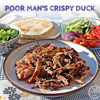 Poor Man's Crispy Duck (Pulled Hoisin Pork Tortillas)