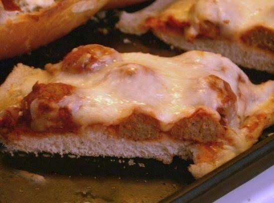 Meatball French Bread Pizza Recipe