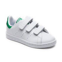 Adidas Adidas Stan Smith - Hook and Loop Trainer VELCRO