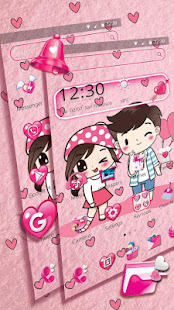 Cute Cartoon Love Launcher Theme for PC-Windows 7,8,10 and Mac apk screenshot 4