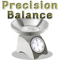 Precision digital scale icon