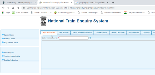 Railway Enquiry Apps On Google Play