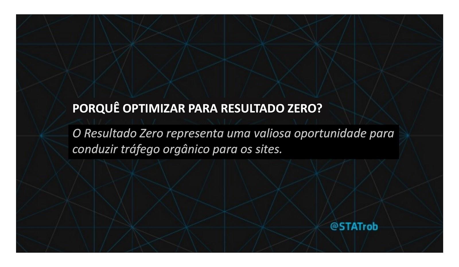 Optimizar Resultado Zero