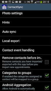 ContactSync trial- screenshot thumbnail