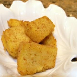 Fried Polenta.