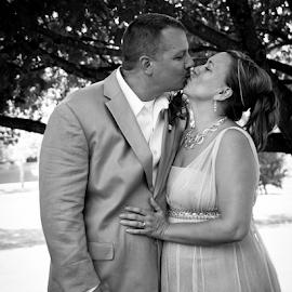by Myra Brizendine Wilson - Wedding Bride & Groom ( bride, groom, couple, bride and groom, wedding, event,  )