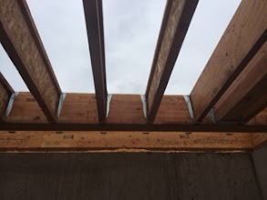Photo: Joists from below