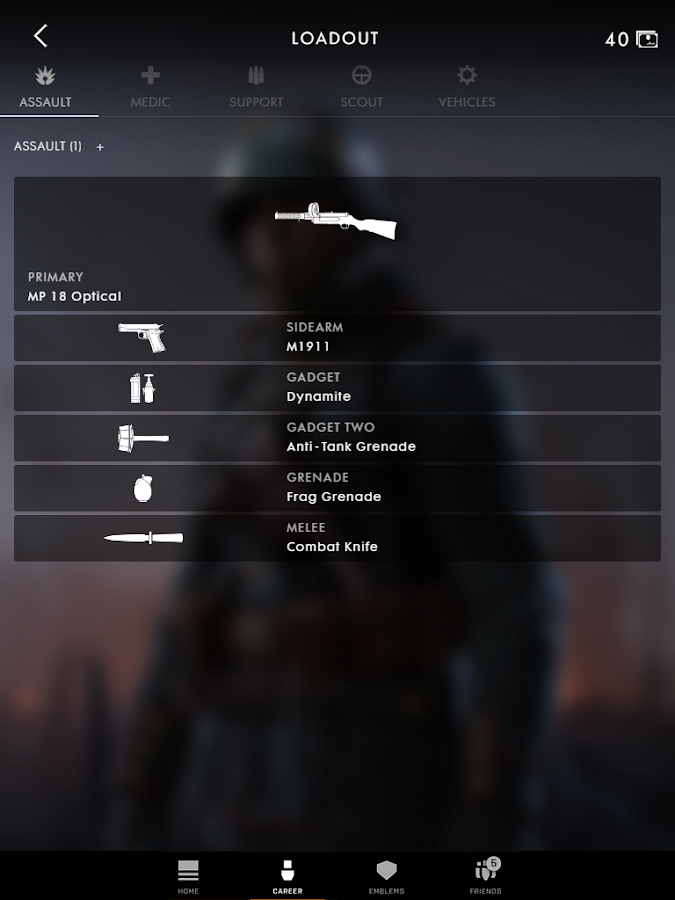 Battlefield™ Companion- screenshot