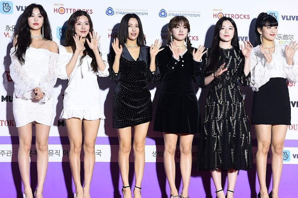 GI-DLE_en_Gaon_Chart_Music_Awards_2020