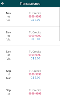 TUCredito screenshot