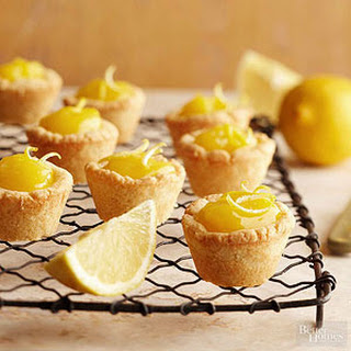 Lemon Curd Tassies.