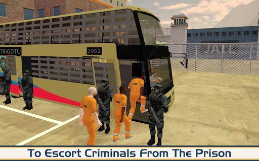 Angry Criminals Transport: Police Bus Sim 1.3 screenshots 7
