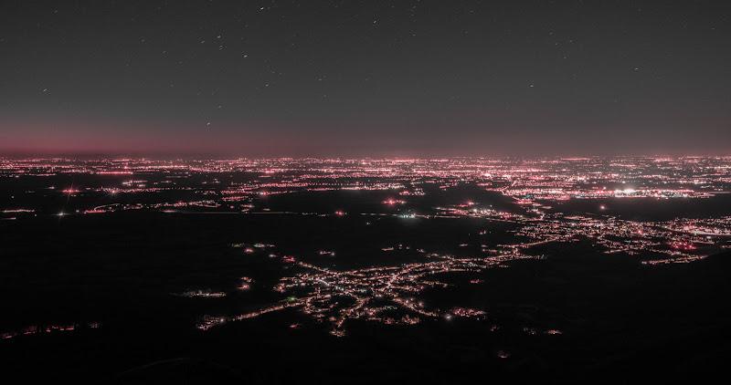 Sopra la città di notte di Steve01101