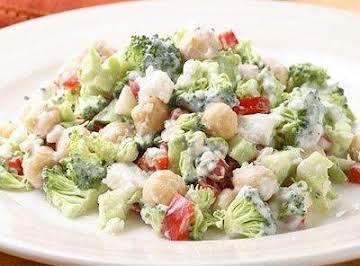 broccoli salad with feta dressing