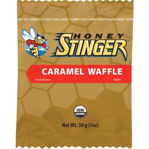 Honey Stinger Organic Waffle: Caramel, Box of 16