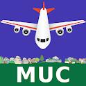Munich Airport: Flight Information icon