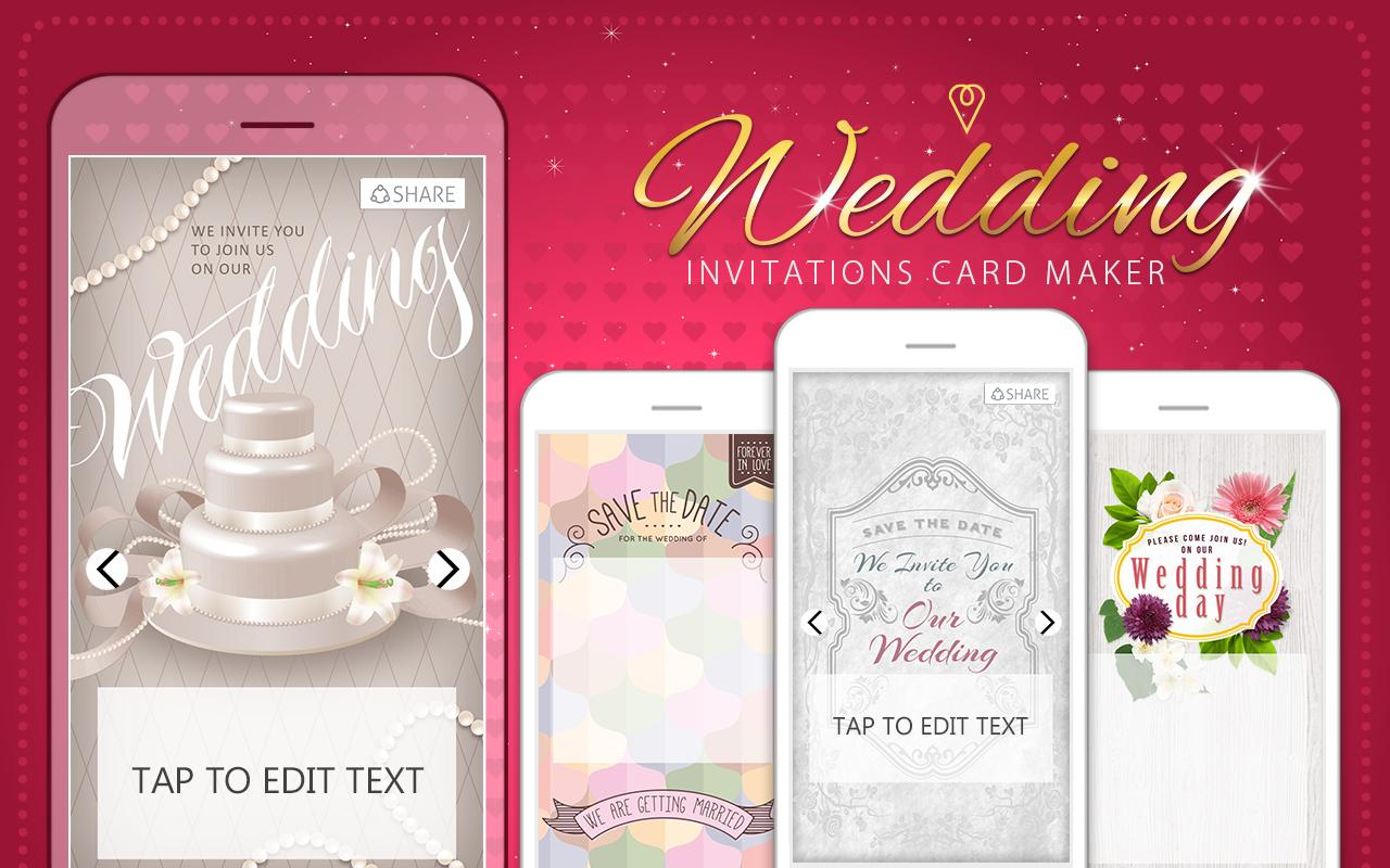 100 Wedding Invitation Cards Maker Free Free Wedding Card M. Diy ...