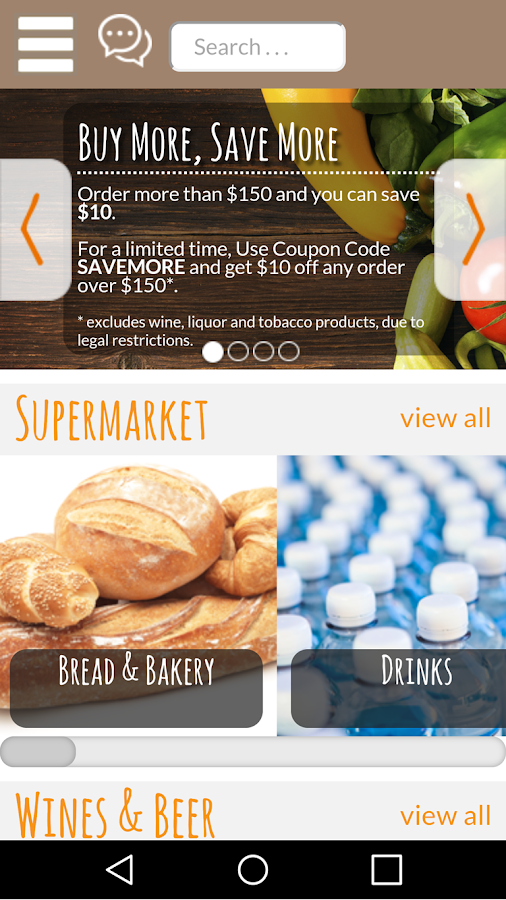 MaxDelivery : Grocery Delivery- screenshot