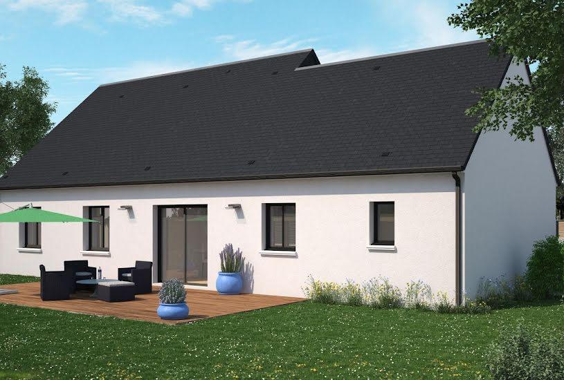 Vente Terrain + Maison - Terrain : 1000m² - Maison : 98m² à Channay-sur-Lathan (37330)