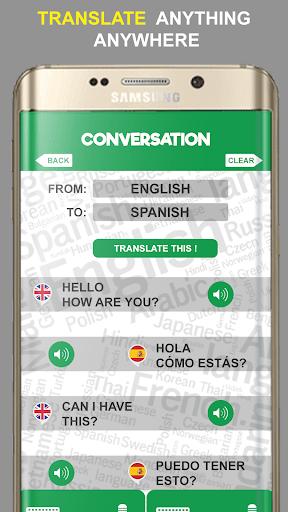 Speak and Translate App - Voice Translator 2020 screenshots 3