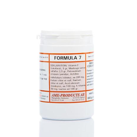 Formula 7 främjar immunförsvarets arbete hos hästen