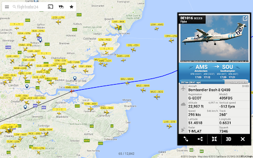 Flightradar24 - Flight Tracker- screenshot thumbnail