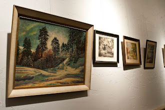 Photo: Nicholas Bervinchak Art Exhibit Schuylkill County Historical Society April 21, 2012