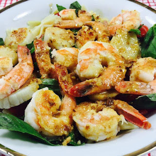 Bow-Ties with Seafood, Halifax Style Recipe