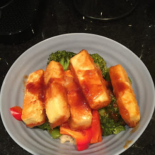 Easy Sweet and Sour Tofu