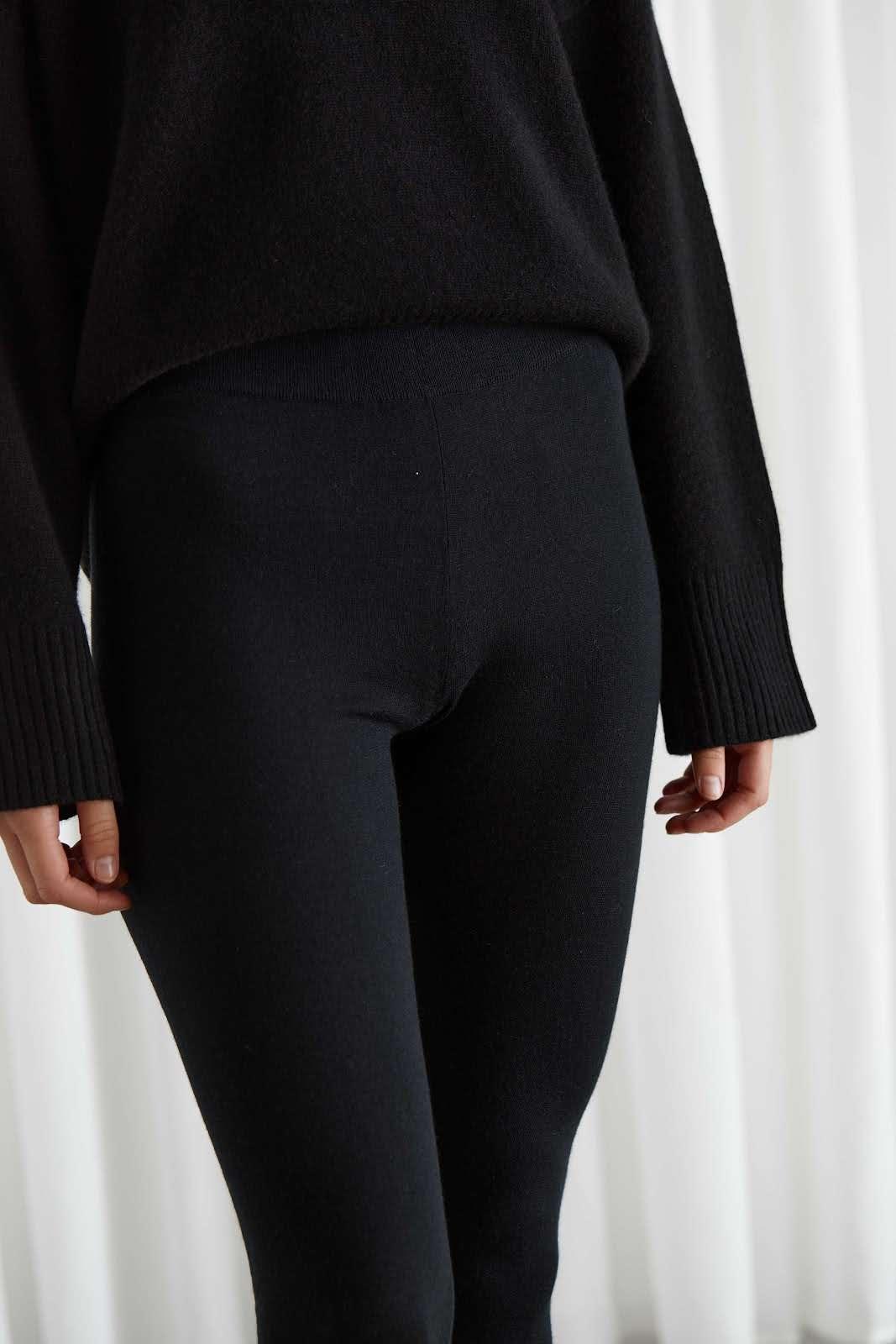 Fine Knit Classic Leggings