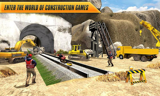 Train Track, Tunnel Railway Construction Game 2018 1.1 screenshots 1