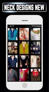 Neck Designs Girls Latest Kurti Collar Idea Design - náhled