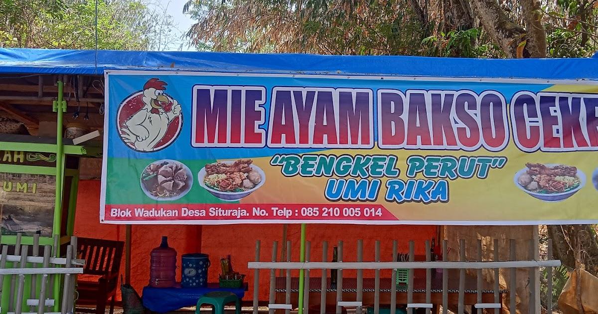 Banner Bakso Mie Ayam - desain banner kekinian