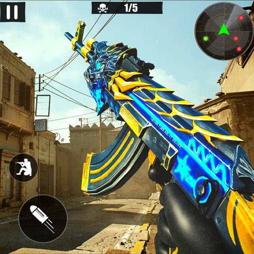 Grand Gangster War Shooting - FPS Shooter Survival