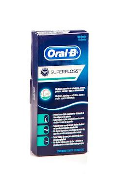 Hilo Dental ORAL-B Super   Floss Ortodoncia x50m