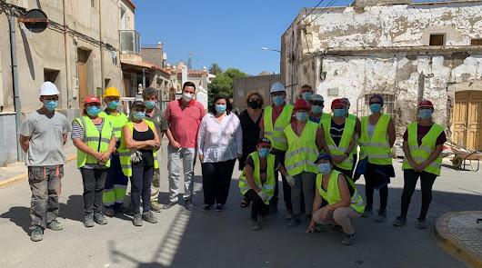 Más de 4.000 jornales en obras en Tabernas