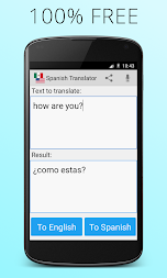 Spanish English Translator APK screenshot thumbnail 1