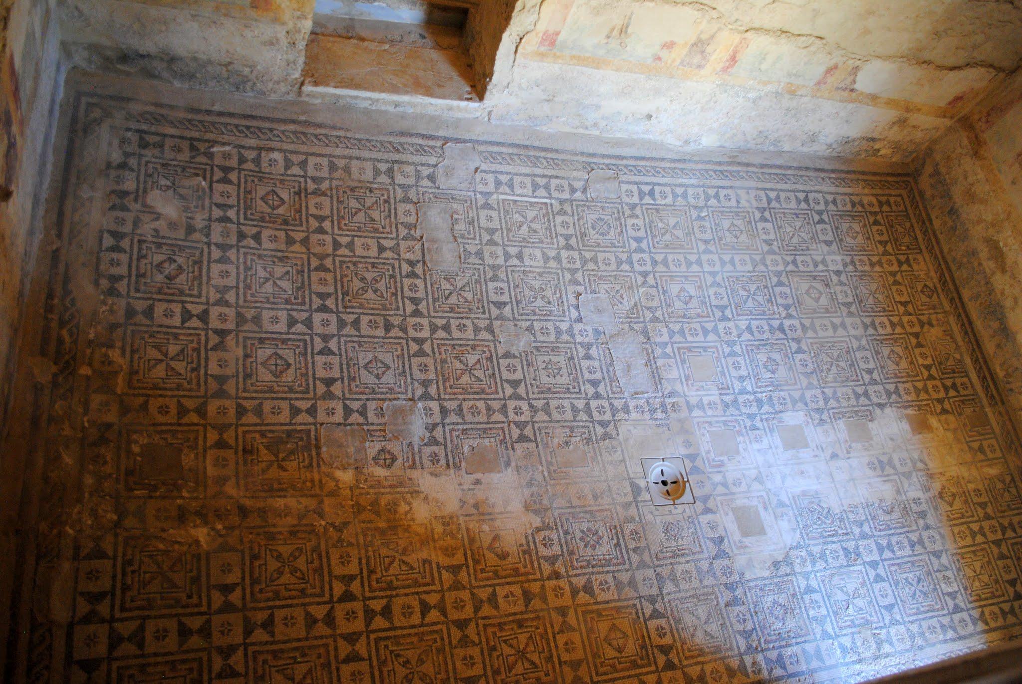 My Photos: Italy -- Mosaics -- Sicily -- Piazza Armerina -- Private Apartment Rooms
