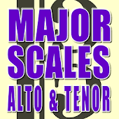 Alto Tenor Major Scales
