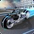 Drive Neon Light Motorcycle