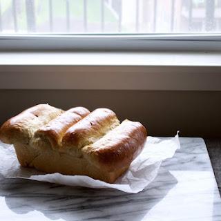 Lemon Ginger Coconut Milk Bread.