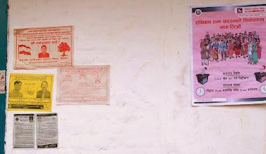 Photo: Es gibt Wahlkampf in Nepal