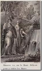 Οι Εννέα Μούσες συναντούν την θεά Αθηνά