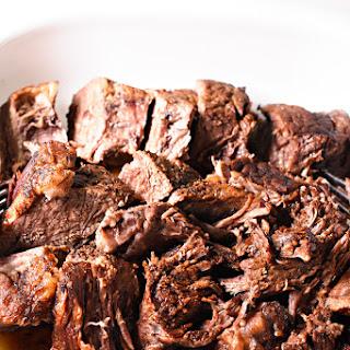 Pressure Cooker Balsamic Roast Beef Recipe