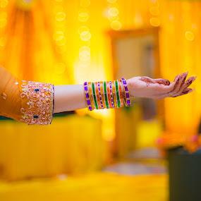 Bride Details by Awais Javed - People Fine Art ( canon, canon 6d, details, bride, 6d )