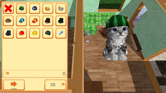 Cute Pocket Cat 3D - Part 2 Screenshot