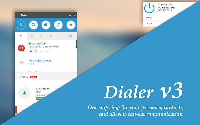 Dialer for Google Chrome™ - Broadsoft